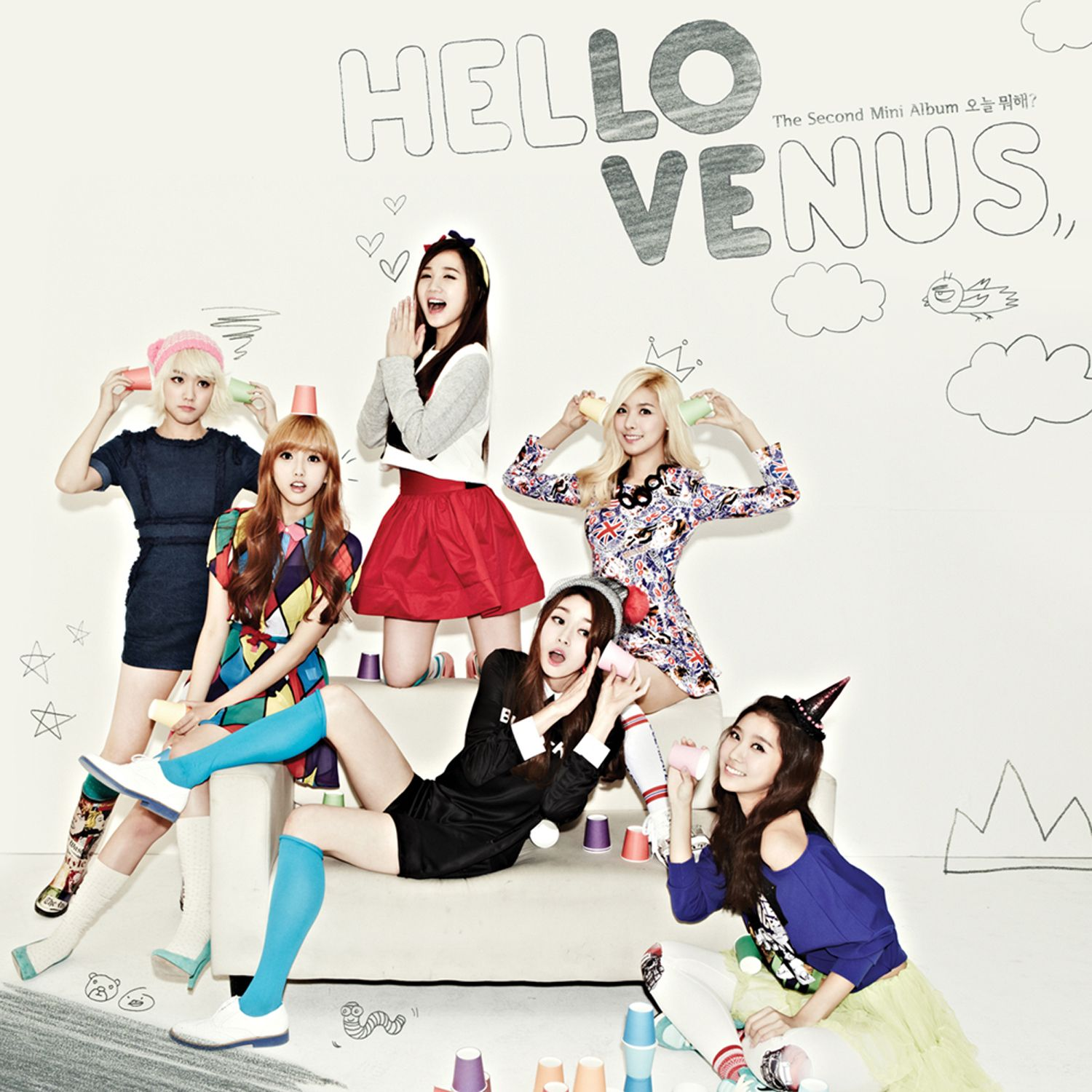 [Mini Album] Hello Venus - What Are You Doing Today [2nd Mini Album]