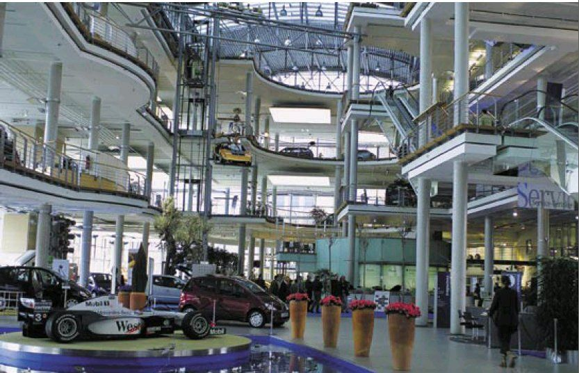 cars news the most beautiful car dealerships mercedes benz berlin. Cars Review. Best American Auto & Cars Review