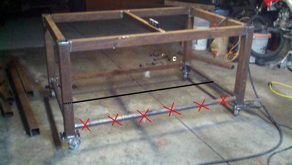 welding tables plans | Cool Woodworking Projects