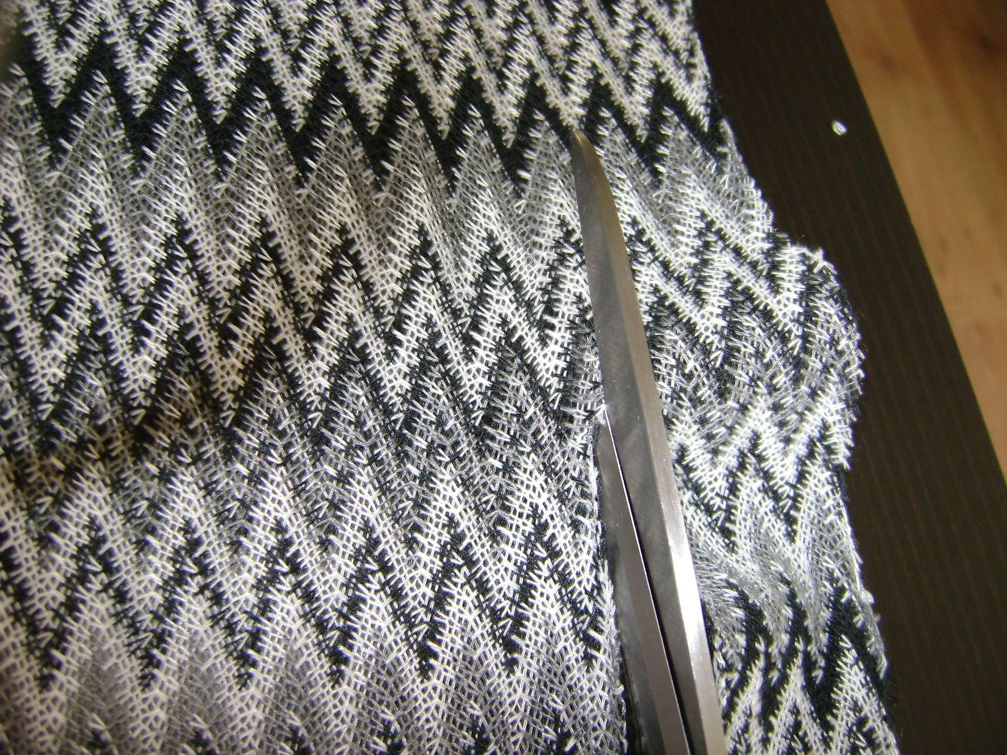 Sewing eenvoudige maxi rok