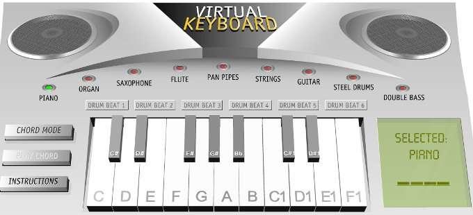 Teclado Online - Piano