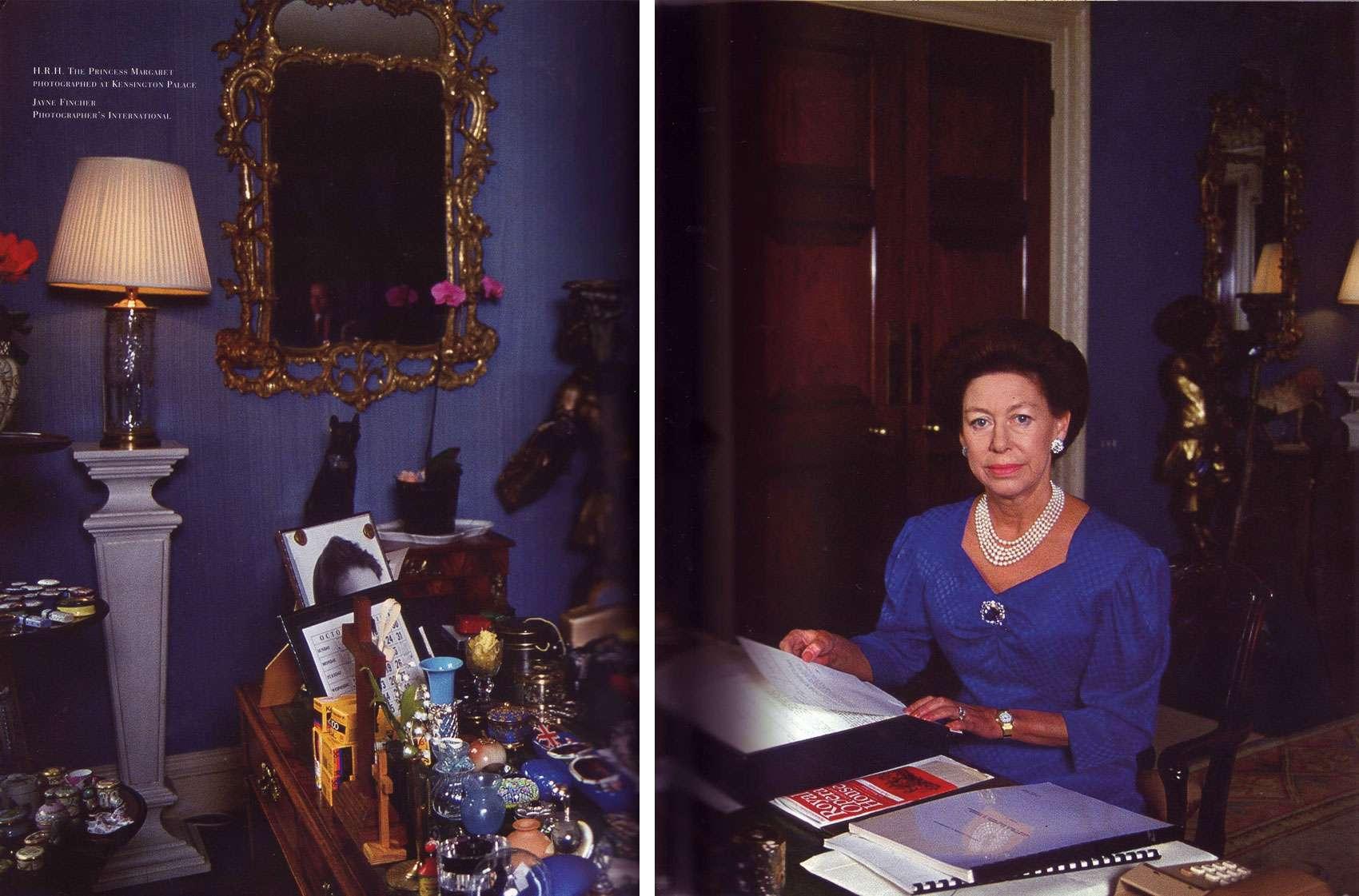 Kensington Palace Apartment In Decorous Taste A Desk Fit For A Princess