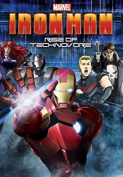Iron Man : L'attaque des Technovores [VOSTFR] dvdrip