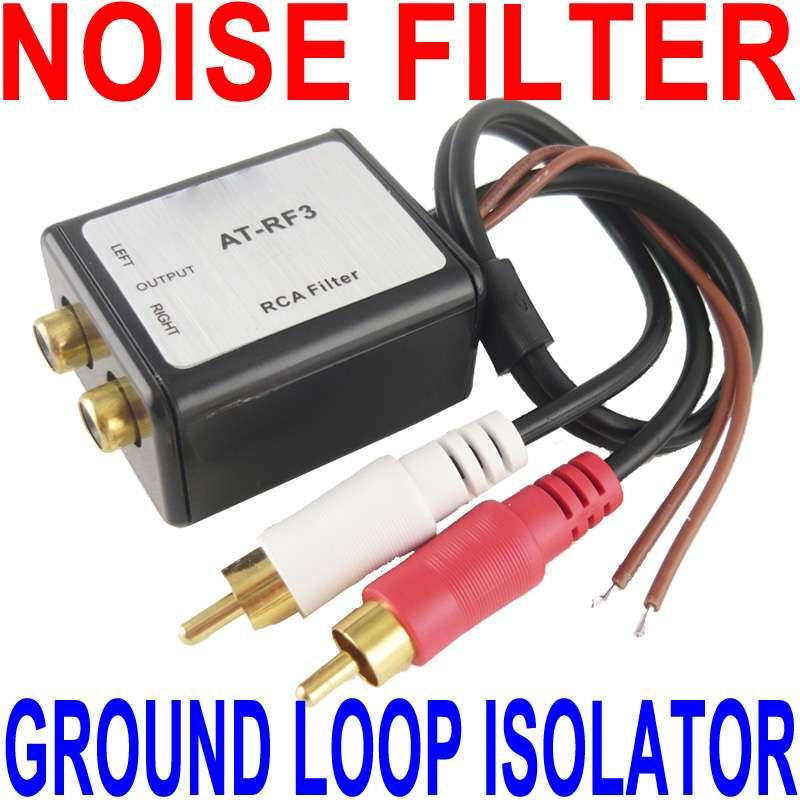 Ground Loop Isolator & RCA Noise Filter AT-RF3 SNI-1 | eBay